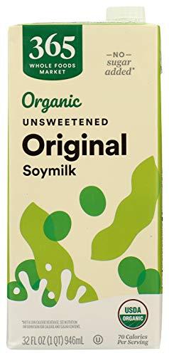 365 by Whole Foods Market, Soy Milk Original Unsweetened Organic, 32 Fl Oz