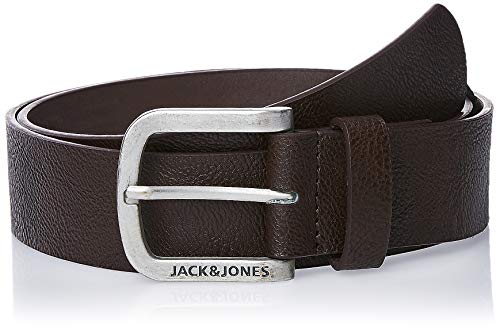 JACK & JONES Herren JACHARRY BELT NOOS Gürtel, Braun (Black Coffee Black Coffee), 95