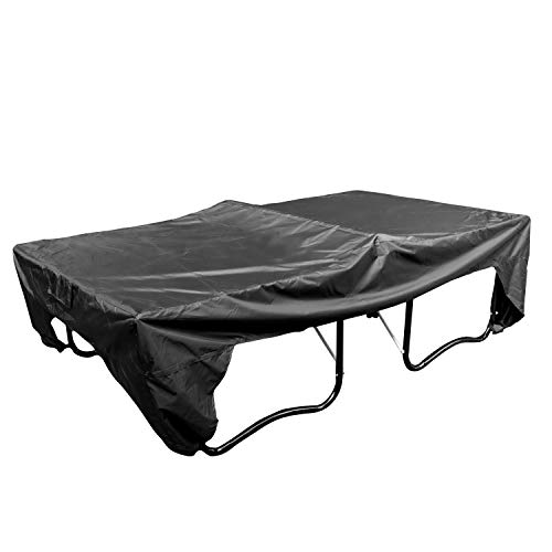 Upper Midland Products Ping Pong Table Cover Outdoor Waterproof 110W x 60D x 30H Table Top Tennis Table Cover