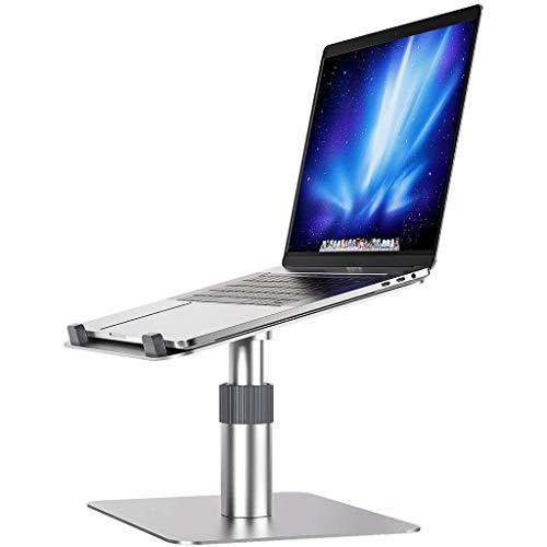 ZTSS Soporte de Aluminio para Ordenador portátil, Altura Regulable, Giratorio 360°, Ergonómico Laptop Stand, Compatible con Ordenadores portátiles (10-16 Pulgadas), Incluye MacBook Pro etc