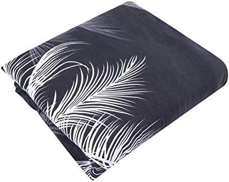 Uxsiya Bananenbladpatroon bescherming tegen slijtage bankovertrek sofaovertrek 5draden naaien antivlek voor interieurinrichting individueel