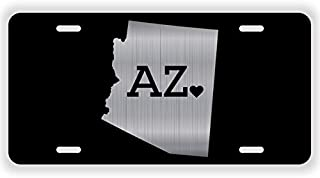 JMM Ind Arizona State Love AZ ? Vanity Novelty License Plate Tag Metal 12-Inches by 6-Inches UV Resistant Etched Aluminum ELP019