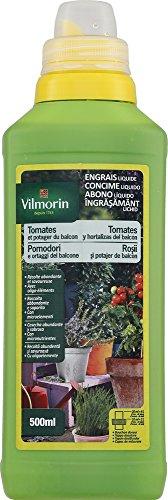 Vilmorin 6417499 Pomodoro e Fertilizzante vegetale Balcon 500 ml 4 LG