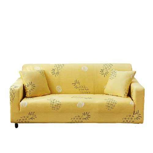 Waschbare Sofabezüge Aus Polyester Für Den Haushalt, Hochelastische rutschfeste Sofakissen, L-Förmige Sofas Benötigen 2 Sofabezüge 1 Sitzer (90-140 cm)