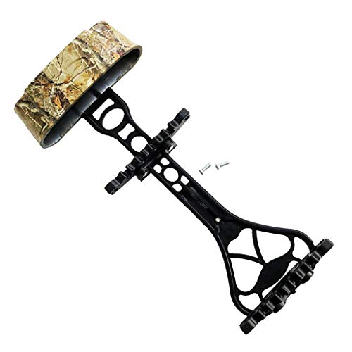 CUTICATE 6 Arrow Bow Quiver for Archery and Hunting - Quick Detach, Lightweight, Noise Free, Men Women Compound Bow Hunting Outdoors
