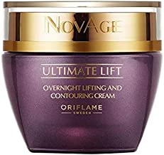 Oriflame NovAge Ultimate Lift Overnight Lifting & Contouring Night Cream 40+ New Sweden 50ml