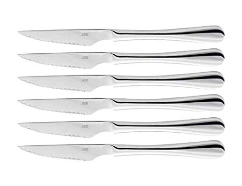 Judge Windsor BF25 Stainless Steel Set of 6 Steak Knives Cutlery Set Boxed