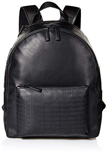 Calvin Klein Men's Monogram Backpack, black, One Size