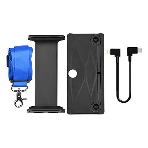 HUANRUOBAIHUO Allungabile Tablet Supporto Supporto for DJI Mavic Air 2 Drone Telecomando Regolabile Staffa for iPad Mavic AIR2 Accessori Accessori Quadcopter (Color : Type B iOS)