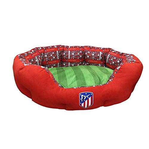 Atletico de Madrid BE-01M-ATL Haustierbett, Größe M