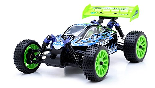 Exceed RC 1/16 2.4Ghz Blaze EP Electric RTR Off Road Buggy Fire Blue