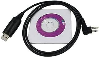 SUNDELY USB Programming Cable for HYT (Hytera) Radio TC500 TC-518 TC-600 TC-700 TC-1600 TC-2100 TC-2110 2-pin