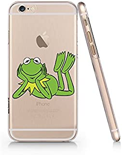 Frog Clear Transparent Plastic Phone Case/Phone Cover for iphone 7/8 SUPERTRAMPshop (iphone 7/8)