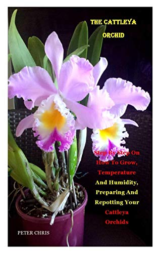 THE CATTLEYA ORCHID: Step By Step On How To Grow, Temperature And Humidity, Preparing And Repotting Your Cattleya Orchids