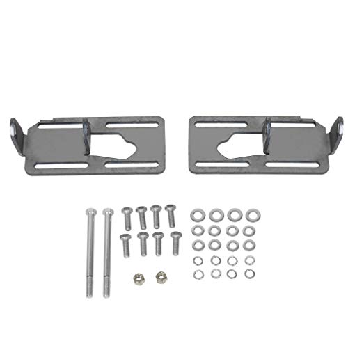 LS Conversion Engine Swap Mounts Plate Fits Chevy 1978-1996 Corvette Ei Camino Nova Adjustable With Hardware