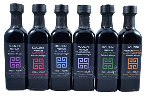 Kouzini Ultra Premium Balsamic Vinegar Mini 6-60ml Pack