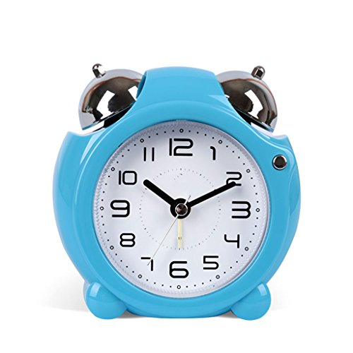 Mzbbn r/éveil Table de Chevet Horloge Triangle r/éveil m/écanique-Rose analogique r/éveil r/éveil Voyage r/éveil Matin /à