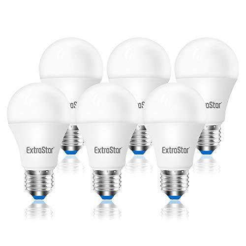 Lampadina LED E27, 10W (equivalenti a 80W), 6500K 800 lumen,luce bianca fredda - Pacco da 6