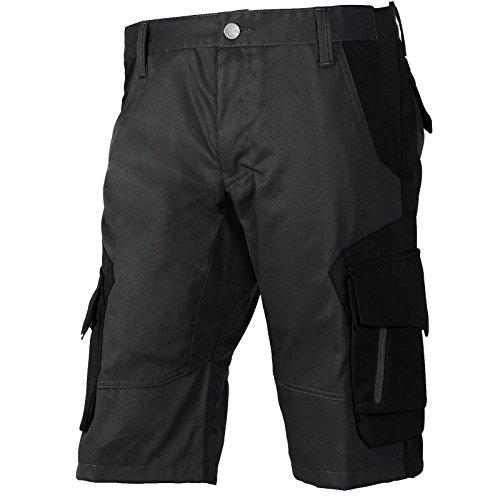 FHB® Herren Arbeits-Hose Shorts kurz Wulf Anthrazit/Schwarz versch. Größen Baumwolle Polyester viele Taschen, 50