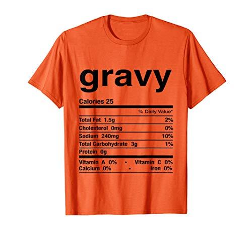 グレービーソース面白い感謝祭のマッチング Tシャツ