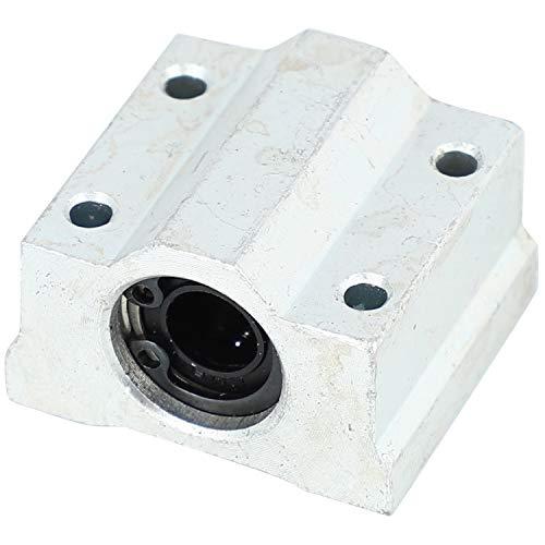TOOGOO 10 Teile/Los Sc8Uu Scs8Uu Block 3D Drucker Teil 8 Mm Linear Kugel Lager Block CNC Router Kugel Lager Sc8Uu Scs8Uu