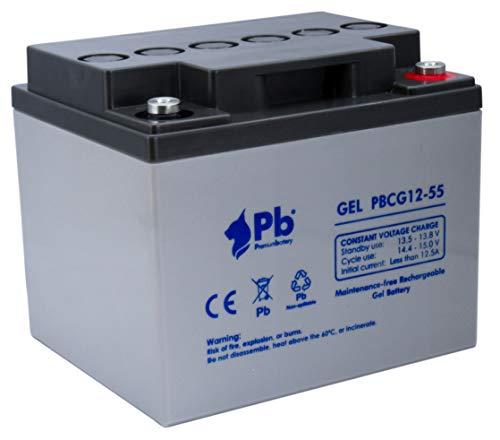 Batería GEL ciclo profundo 12V 55Ah