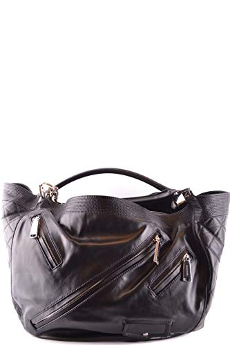Luxury Fashion | Dsquared2 Dames W16SD5093015M802 Zwart Leer Schoudertassen | Seizoen Permanent