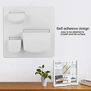 Bathroom Sundry Hanging Shelves for Bedroom Small storage shelf Wall Mounted Floating Shelves Set of 2 Kitchen Bathroom Accessories Organizer Self Stick Toilet Office wall Living Room