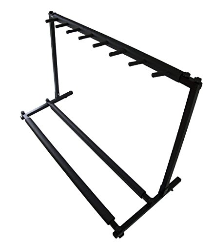 boby Multi Guitar Stand Rack for 7 Guitars Acoustic Guitar Bass