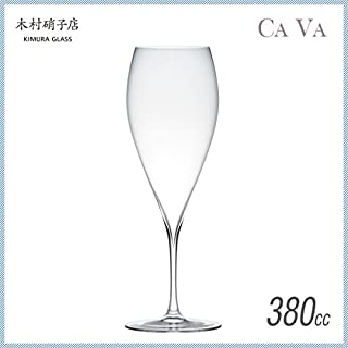 木村硝子店 サヴァ 12oz VTシャンパーニュ 380ml (6個セット) (CAVA-12OZ-VT) ガラス