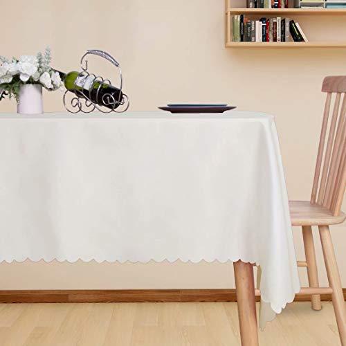LUSHVIDA Christmas Rectangle Tablecloth 60 x 84 Inch