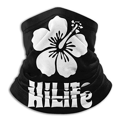 Turbante básico para la mitad, bandana, gorro resistente, polaina, pasamontañas, bufanda de tubo, calentador de cuello suave Hilife Hawaii para motocicleta, ciclismo, snowboard, diademas