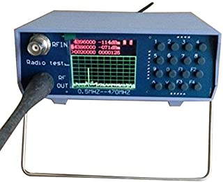 TOOGOO U/V UHF VHF analizador de espectro de doble banda con ajuste de fuente de seguimiento Duplexores