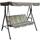 Kozyard Alicia Patio Swing Chair with 3...