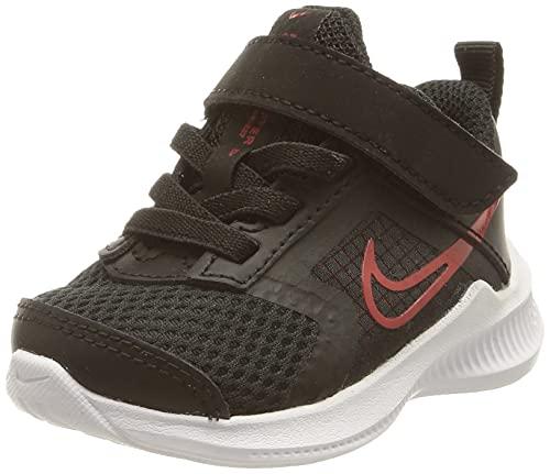 Nike Downshifter 11, Scarpe da Ginnastica, Black/University Red-Dk Smoke Grey-White, 36 EU