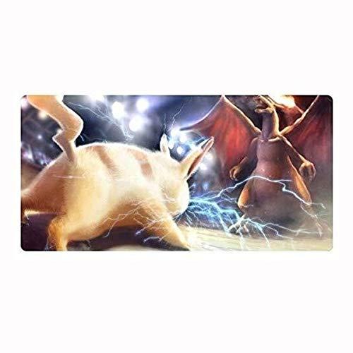 CFTGB muis voor games, mat, groot model, gaming muismat, Pokémon Pikachu Extended Mousepad voor desktop-PC, muismat