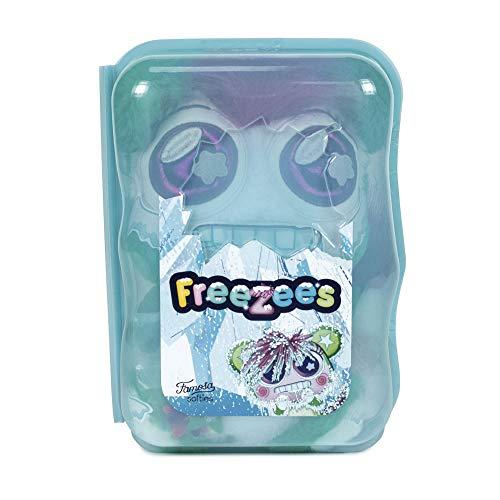 Famosa - Freezees IGGY GLU, peluche bonito de color rosa y verde, muñeco con forma de osito para niños y niñas de cualquier edad, experiencia de juego diferente, a partir de 0 meses (760018820
