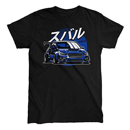 Subie Fifth Generation Blue T-Shirt (XXX-Large)