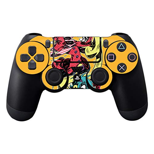 MightySkins Skin Compatible with Sony PS4 Controller - Rokurokubi   Protective, Durable, and Unique Vinyl Decal wrap Cover   Easy to Apply, Remove, and Change Styles   Made in The USA