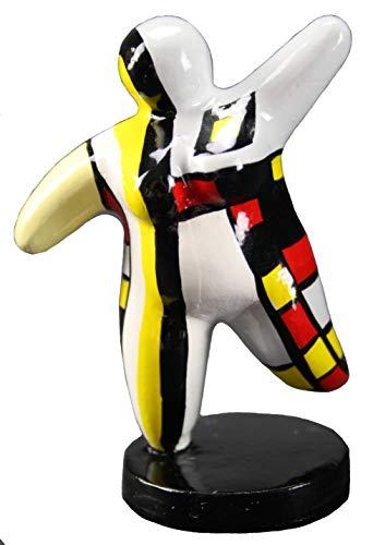 Hommage an Niki de Saint Phalle - Skulptur Figur Dicke Frau Nana Molly Mini