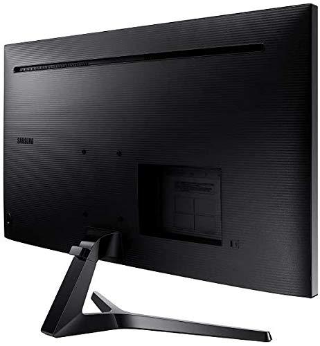 Samsung LS34J552WQUXEN 86,7 cm (34 Zoll) Ultra WQHD Monitor (3.440 x 1.440 Pixel, VA-Panel, 21:9 Format, 60 Hz, 4ms) dunkelblaugrau