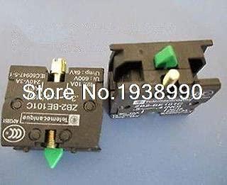 Screw 5pcs TELEMECANIQUE ZB2-BE101C NO Contact Block Replaces Tele 10A 400V
