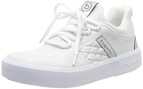 bugatti Damen 432407686959 Slipper, Weiß (White/Metallic 2090), 38 EU