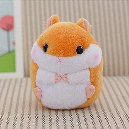 ADIE Plüschtier Cartoon Guinea Pig Teddy Hamster Mini Teddy Spielzeug niedlich Hamster Spielzeug Kinder Mädchen Geschenk 20cm (gelb) 1 Stück