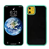 Cekell Funda de teléfono Anti Gravedad para iPhone11 Soft TPU Magic Nano saufgaben Casos adsortados Verde