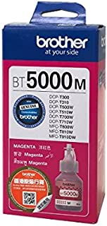Brother BT5000M, for DCP-T310, DCP-T510W, DCP-T710W, MFC-T910, Inks Magenta ,up to 5000 pages