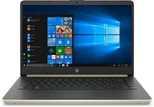 HP 14-DQ Pale Gold 14Inch / HD i3-1005G / 4GB / 128GB / W10H