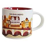 Starbucks City Mug You Are Here Collection Heidelberg Kaffeetasse Coffee Cup