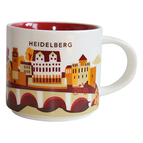 Starbucks City Mug You Are Here Collection Heidelberg Kaffeetasse Coffee Cup