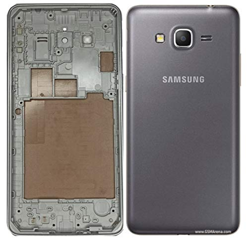 Backer The Brand Replacement Full Body Housing Panel for Samsung Galaxy Grand Prime G531 SM-G531 - Grey